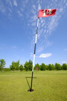 Free Golf Flag Stock Photo - 2555180