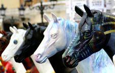 Free Plastic Horses Stock Images - 2555234