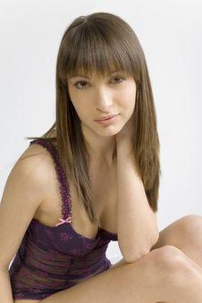 Free Beauty In Underwear Stock Image - 2555341