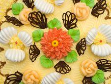 Free Cream Cake, Close-up Royalty Free Stock Image - 2555606