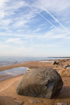 Sandy Baltic Seaside Stock Photos