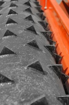 Free Roller Spikes Stock Image - 2557231