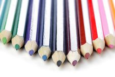 Free Crayons Royalty Free Stock Photos - 2557338