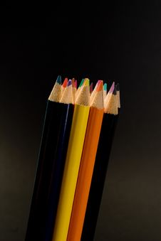 Free Pencil Group Royalty Free Stock Photo - 2558975
