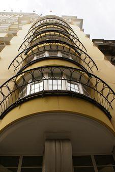 Free Row Of Balcony Banisters Royalty Free Stock Photos - 2559178