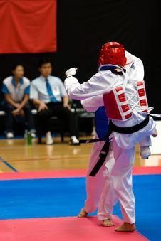 Free Taekwondo Stock Image - 2559341