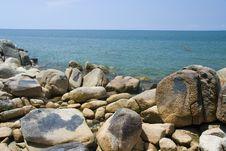 Free Kuantan Beach Stock Images - 2559384