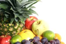 Free Fruits Isolated On White Stock Image - 2559461
