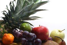 Free Fruits Isolated On White Royalty Free Stock Photo - 2559505