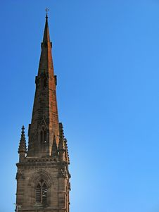 Free Church Spire In Chester Englan Royalty Free Stock Photo - 2559755
