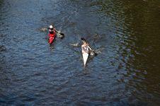 Free Kayaks Royalty Free Stock Images - 2559789