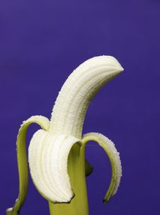 Free Peeled Banana Royalty Free Stock Photo - 2559955