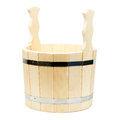Free Wooden Tub For A Bath Royalty Free Stock Images - 25504239