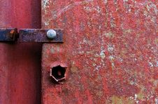 Free Old Painted Metal Construction Stock Photos - 25500253