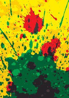 Free Splattered Background Stock Images - 25500514