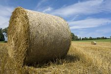 Free Straw Bales Royalty Free Stock Photography - 25501747