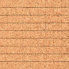 Tiled Texture Of Cork Royalty Free Stock Image