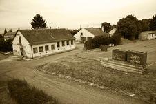 Old Barracks Royalty Free Stock Photo