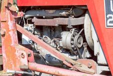 Free Old Tractor Engine Stock Images - 25508354