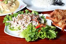 Free Thai Cuisine Royalty Free Stock Photos - 25511148
