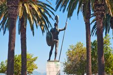 Statue Of Achilles Royalty Free Stock Images