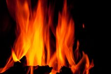 Free Fire Flames Stock Images - 25512204