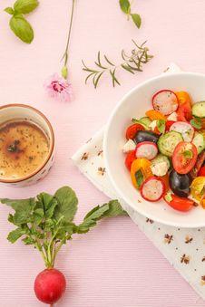 Free Summer Salad Stock Image - 25514941