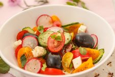 Free Summer Salad Royalty Free Stock Image - 25514946