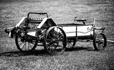 Antique Farm Equipment Stock Photography