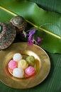 Free Thai Traditional Sweet Royalty Free Stock Photo - 25524945