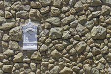 Free Brick Wall In Rio De Janeiro Stock Image - 25523401