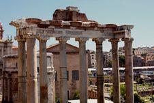 Free Roman Forum Royalty Free Stock Image - 25528976