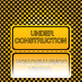 Free Under Construction Sign Royalty Free Stock Photography - 25532937