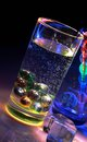 Free Glass And Water: Color And Light. Royalty Free Stock Photo - 25536305