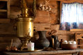 Free Rural Still Life With A Russian Samovar. Royalty Free Stock Photos - 25536508
