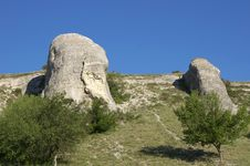 Free Mountain Crimea In Ukraine Royalty Free Stock Photos - 25530438