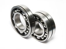Free Two Ball Bearings Stock Images - 25533544