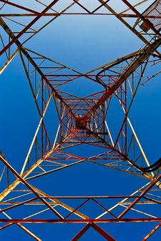 Free Pylon Royalty Free Stock Photos - 25534338