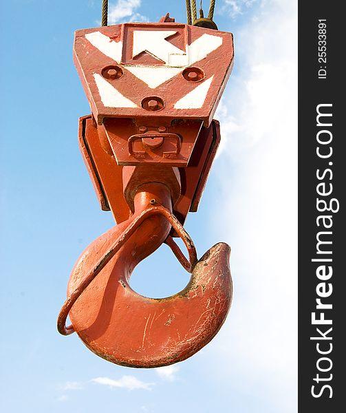Hook of crane
