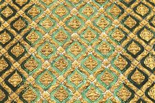 Free Pattern Of Thai Art Stock Photos - 25543803