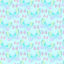 Free Light Butterfly Background Royalty Free Stock Photos - 25544568