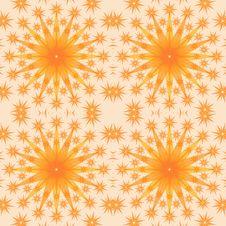 Yellow Stars Background Royalty Free Stock Photo