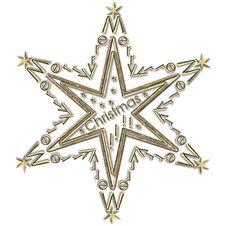 Free Star Merry Christmas Stock Photo - 25544680