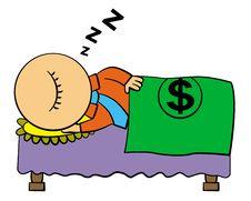 Free Sleeping Rich Stock Photo - 25546680