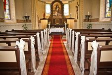 Free Interior Of The Church Stock Photo - 25548450