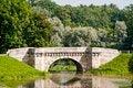 Free Carp Bridge In Gatchina Park Stock Images - 25553314