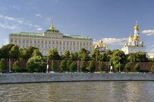 Big Kremlin Palace Stock Photography