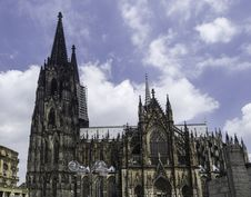 Free Cologne Cathedral South View Stock Photography - 25552502