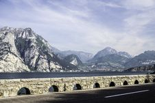 Lake Garda Torbole Royalty Free Stock Images