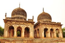 Free Historic Architecture, Twin Tombs Royalty Free Stock Photos - 25552788